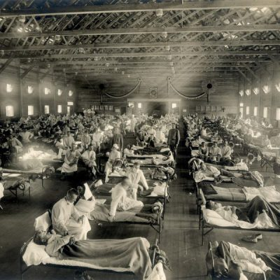 1918 flu Camp Funston hospital Kansas