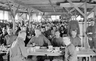 Spanish Flu Spread by Soldiers Training at Camp Funston