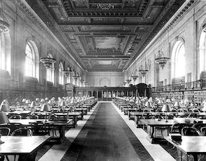 New York Pubic Library open during 1918 Spanish influenza