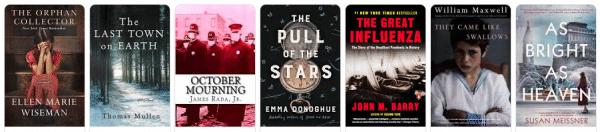 historical novels 1918 influenza pandemic